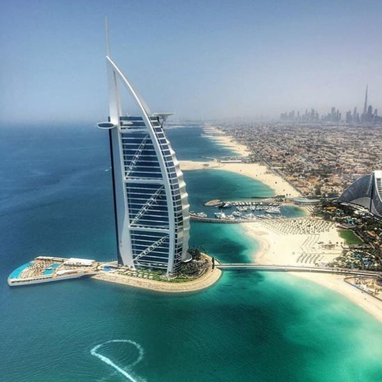 Dubai's Burj Al Arab Opens First Beach Club For Hotel Guests