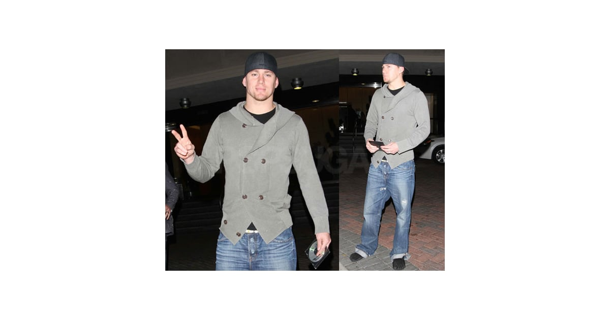 Photos of Channing Tatum Wearing Toed Shoes in LA and