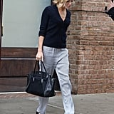 Sienna Does Slouchy Workwear the Fashion Girl Way