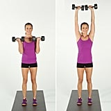 Biceps Curl and Overhead Press