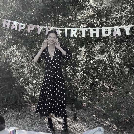 See and Shop Olivia Rodrigo's 18th Birthday Polka-Dot Dress