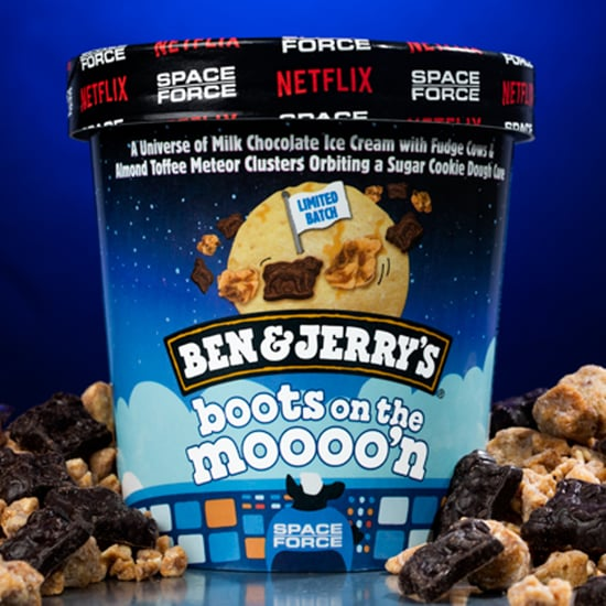 Ben & Jerry's Drops Boots on the Moooo'n Space Force Flavor