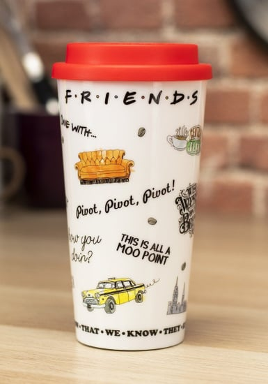 This Friends Travel Coffee Mug Features Iconic Show Quotes Popsugar Food