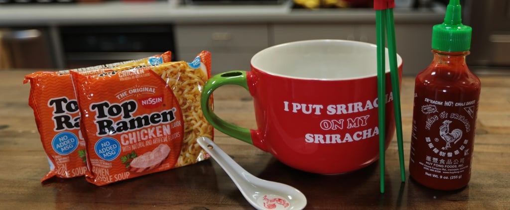 This Sriracha Ramen Noodle Gift Set From Walmart Is Only $15