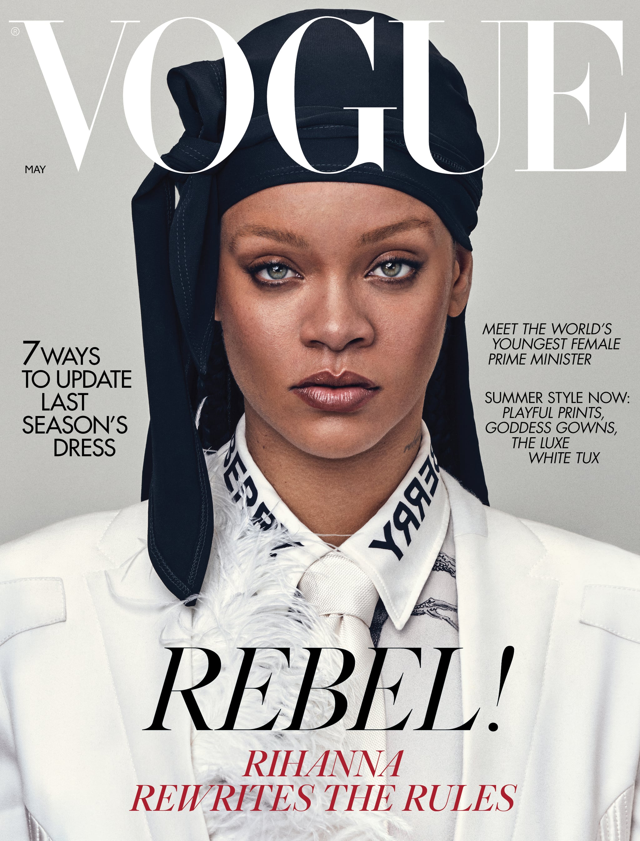 Rihanna Reclaims A Symbol Of Black Culture Being The First To Wear A Durag On The Cover Of British Vogue Guap