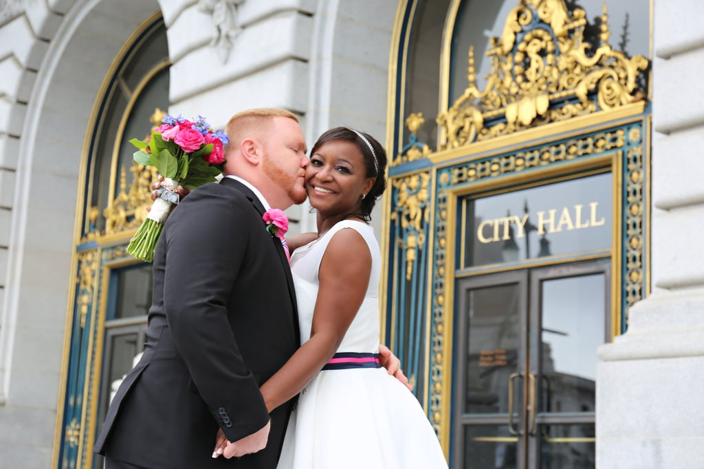 Alva and Bo decided to have their own destination wedding in San Francisco at the gorgeous City Hall. See the wedding here!