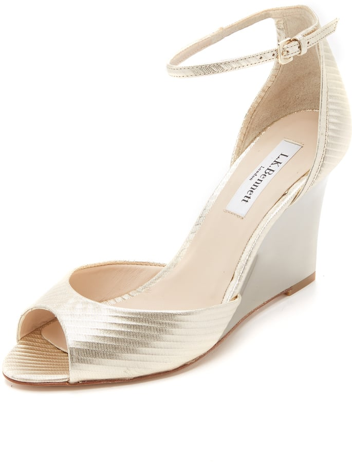 Lovely LK Bennett Chloe Patent Leather Slingback Courts