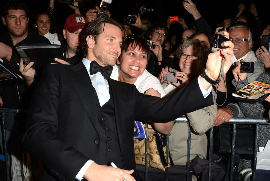 Even fans couldn't get enough of Bradley at the Palm Springs International Film Festival Awards Gala in January.