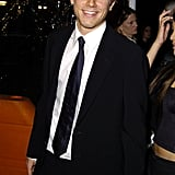 Charlie looked dapper at the Cold Mountain premiere in LA in December 2003.