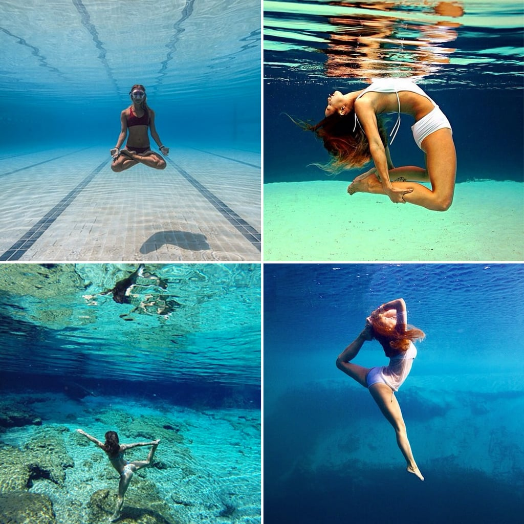 Underwater Yoga Instagram Photos