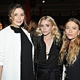 The three sisters attended the 2016 LACMA Art and Film Gala together.