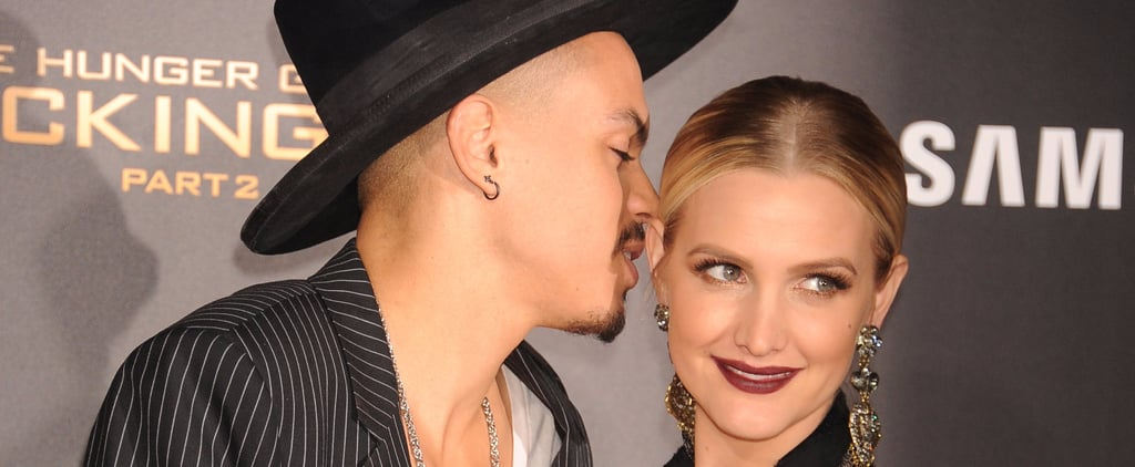 You Can Always Count on Evan Ross to Be Ashlee Simpson's Right-Hand Man on the Red Carpet