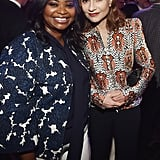 Octavia Spencer and Isabelle Huppert