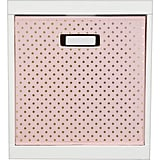 Polka-Dot Storage Bin