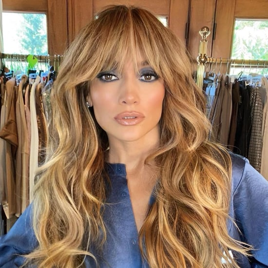Jennifer Lopez's Shag Haircut and Bangs