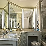 One of the home's three-and-a-half bathrooms is decidedly luxurious.