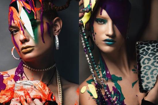 America's Next Top Models Make Modeling Look Paintful