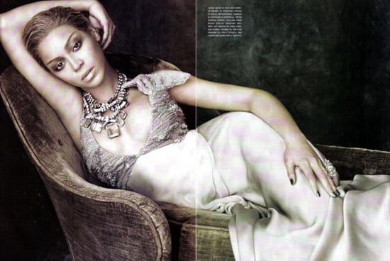 Beyonce does Vogue Italy-april 2009