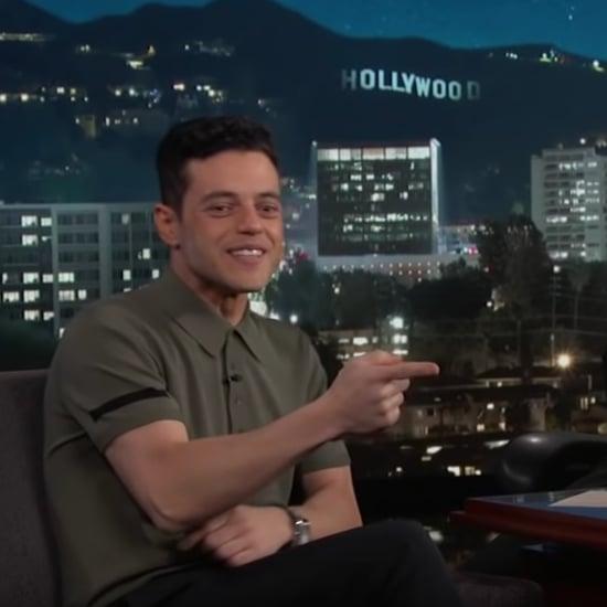 Rami Malek Nicole Kidman Awkward Moment Reaction Video