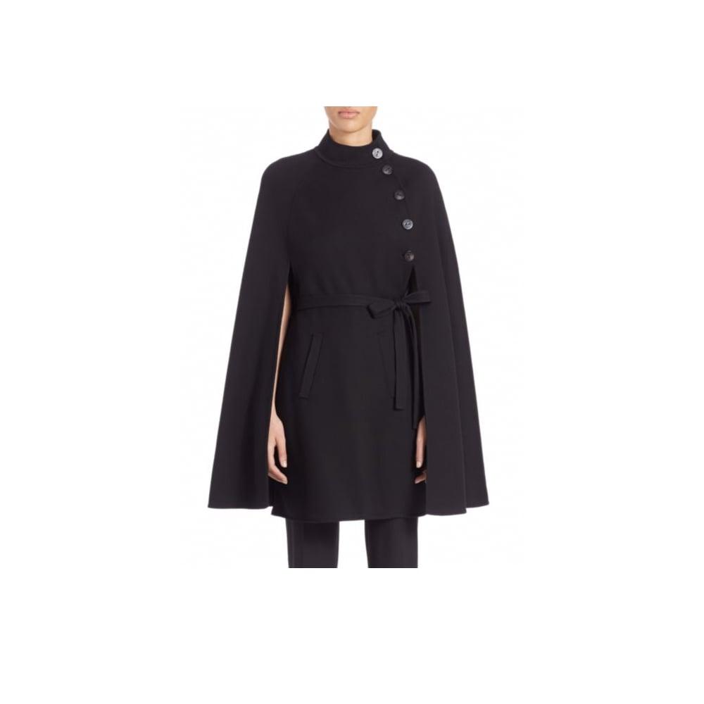 Carolina Herrera Wool Cape Coat ($2,490)