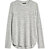 Luxespun Curved Hem T-Shirt