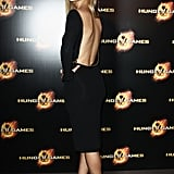We loved the sexy back detailing on Jennifer Lawrence's Tom Ford dress.