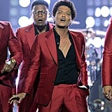 Bruno Mars performed during the Billboard Music Awards.