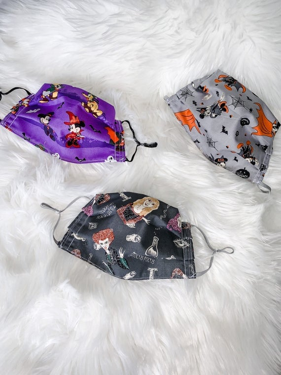 Disney Halloween Face Masks