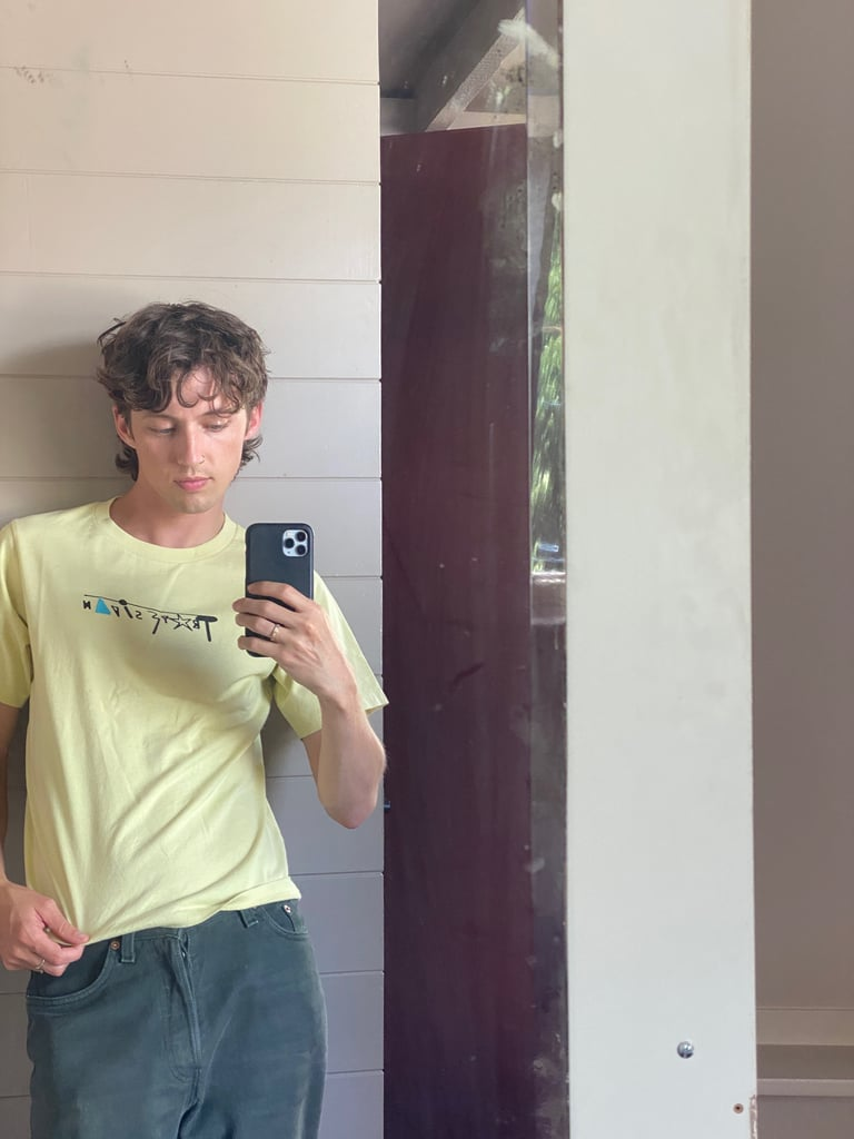 Troye Sivan Uniqlo T-shirt Collaboration