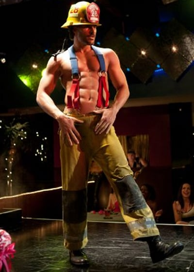 He took his dance moves onto the Magic Mike stage while filming in 2011.