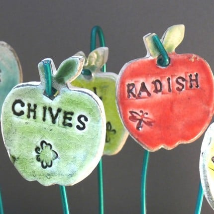 Garden Plant Identification Tags ($24 for 3)