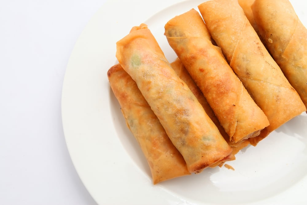 Vegetable Spring Roll Calories in Tha...
