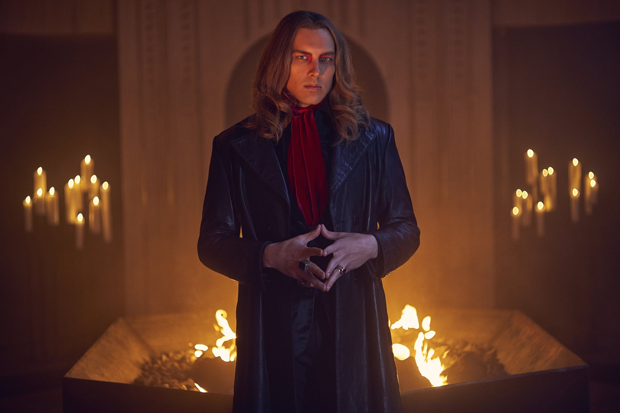 AMERICAN HORROR STORY: APOCALYPSE -- Pictured: Cody Fern as Michael Langdon. CR: Kurt Iswarienko/FX