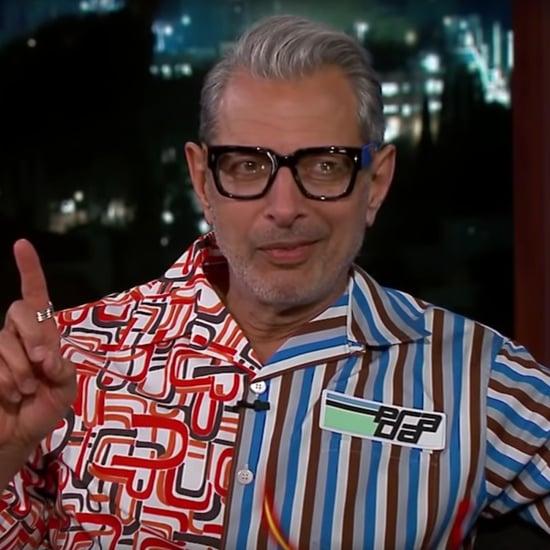 Jeff Goldblum Singing in French on Jimmy Kimmel Live 2018