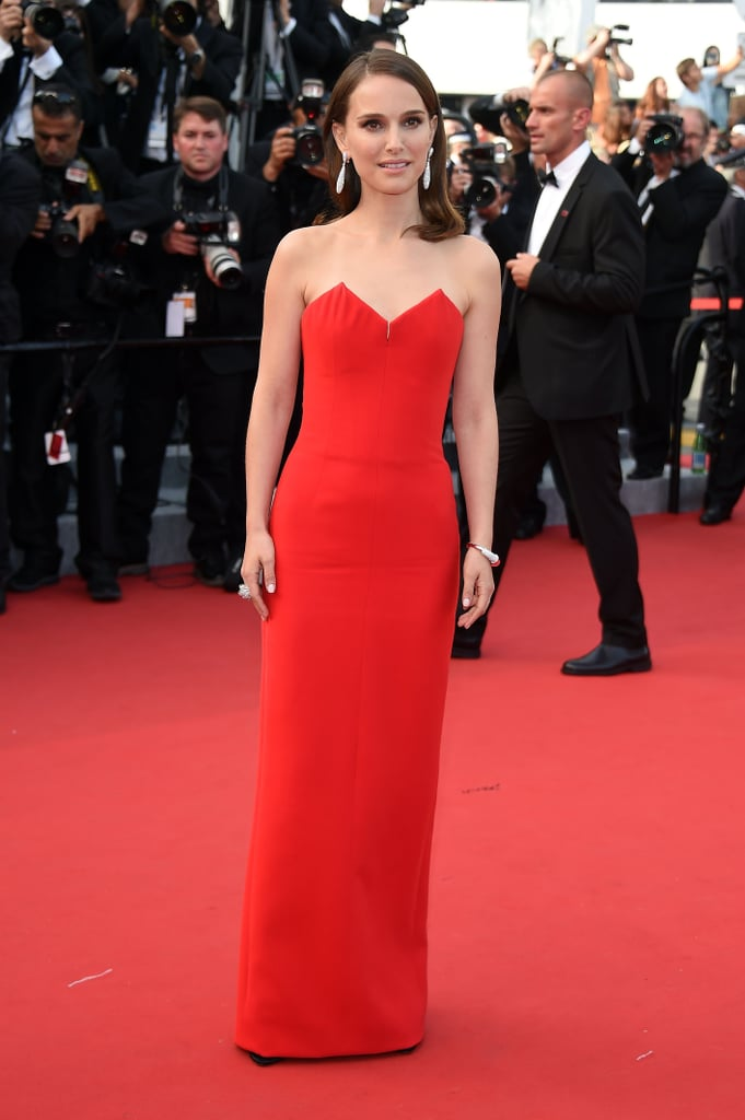 Natalie Portman in Christian Dior at Cannes in 2015