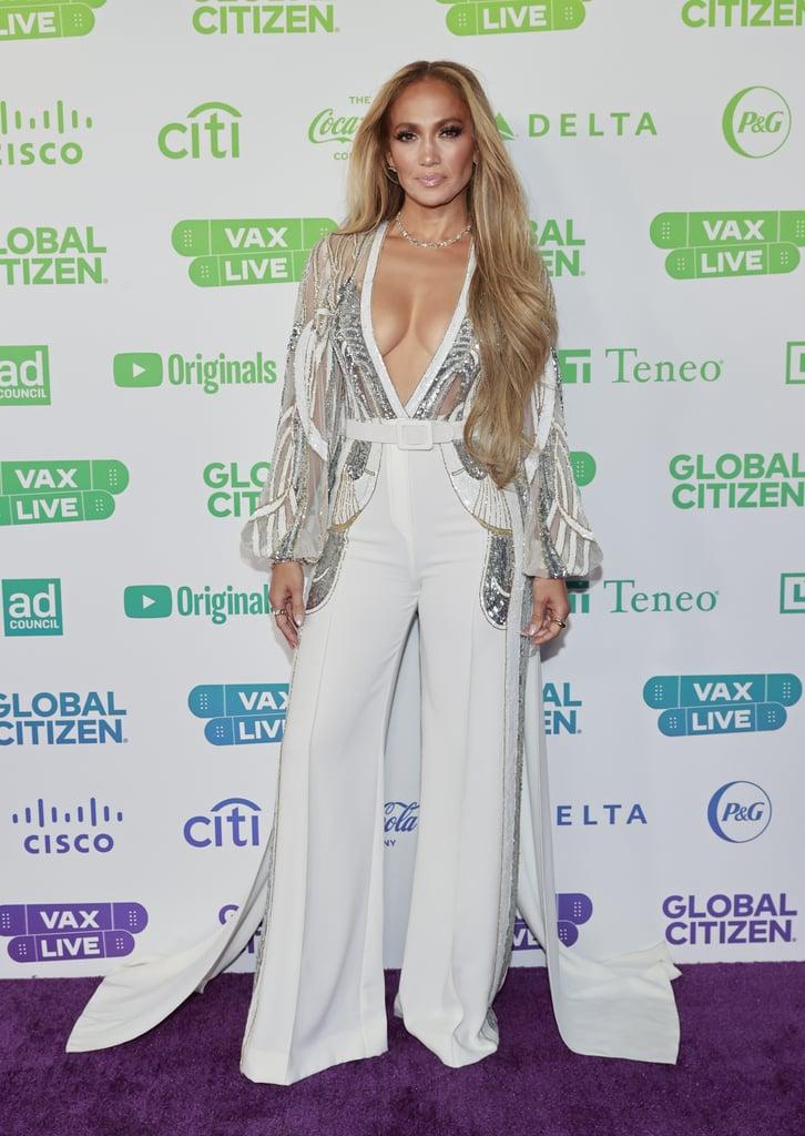 J Lo's Elie Saab Jumpsuit at the Global Citizen Concert