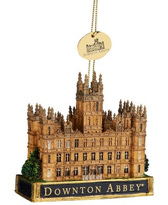 Downtown Abbey Ornaments