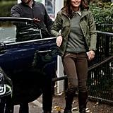 Kate Middleton Closing Her Door in 2018