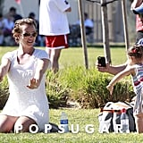 Britney Spears at Sons' Soccer Game | Pictures