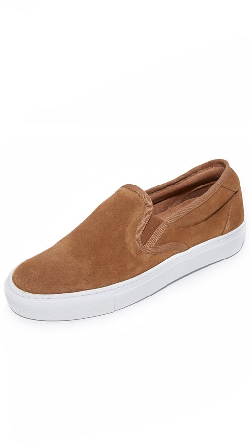 A.P.C. Suede Slip-On Sneakers