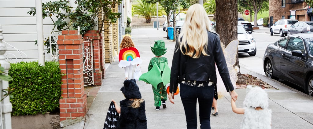 How I Make Sure My Kids Are Visible While Trick-or-Treating