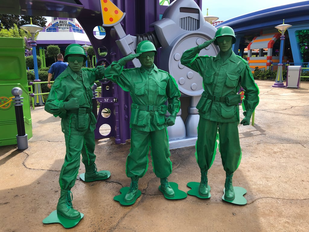 Characters You Can Meet in Toy Story Land