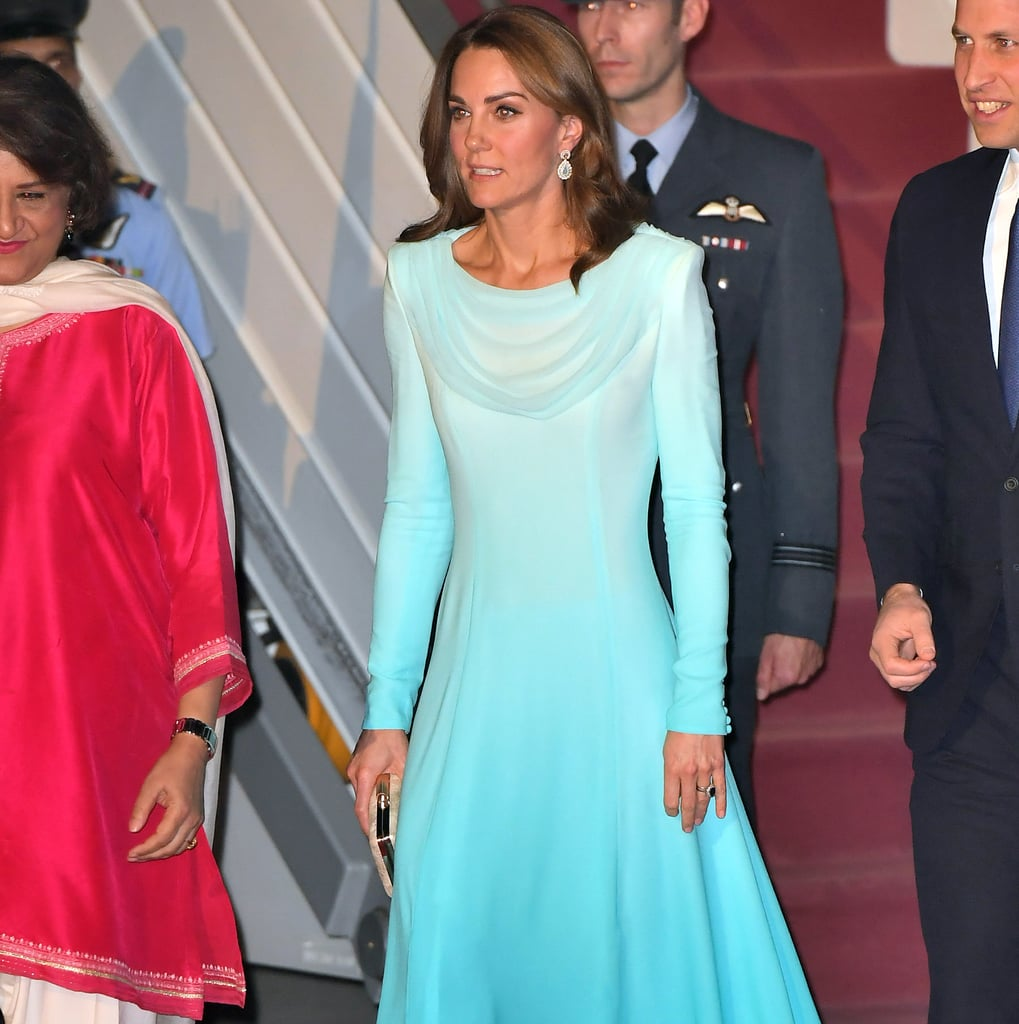 Kate Middleton Chose a Dress Just Like Princess Diana Did in Pakistan — But Kate's Is Ombré