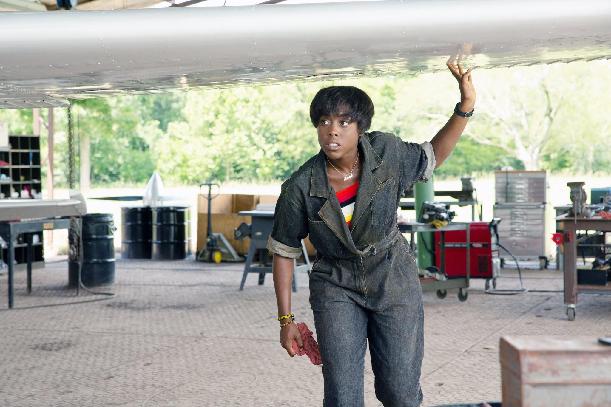CAPTAIN MARVEL, Lashana Lynch as Maria Rambeau, 2019. ph: Chuck Zlotnick /  Walt Disney Studios Motion Pictures /  Marvel / courtesy Everett Collection