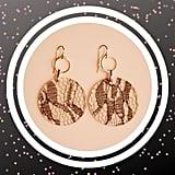 Posh Spice-Inspired Hoop Earrings
