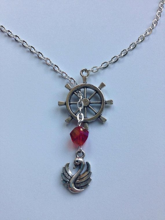 Captain Swan Necklace ($12)