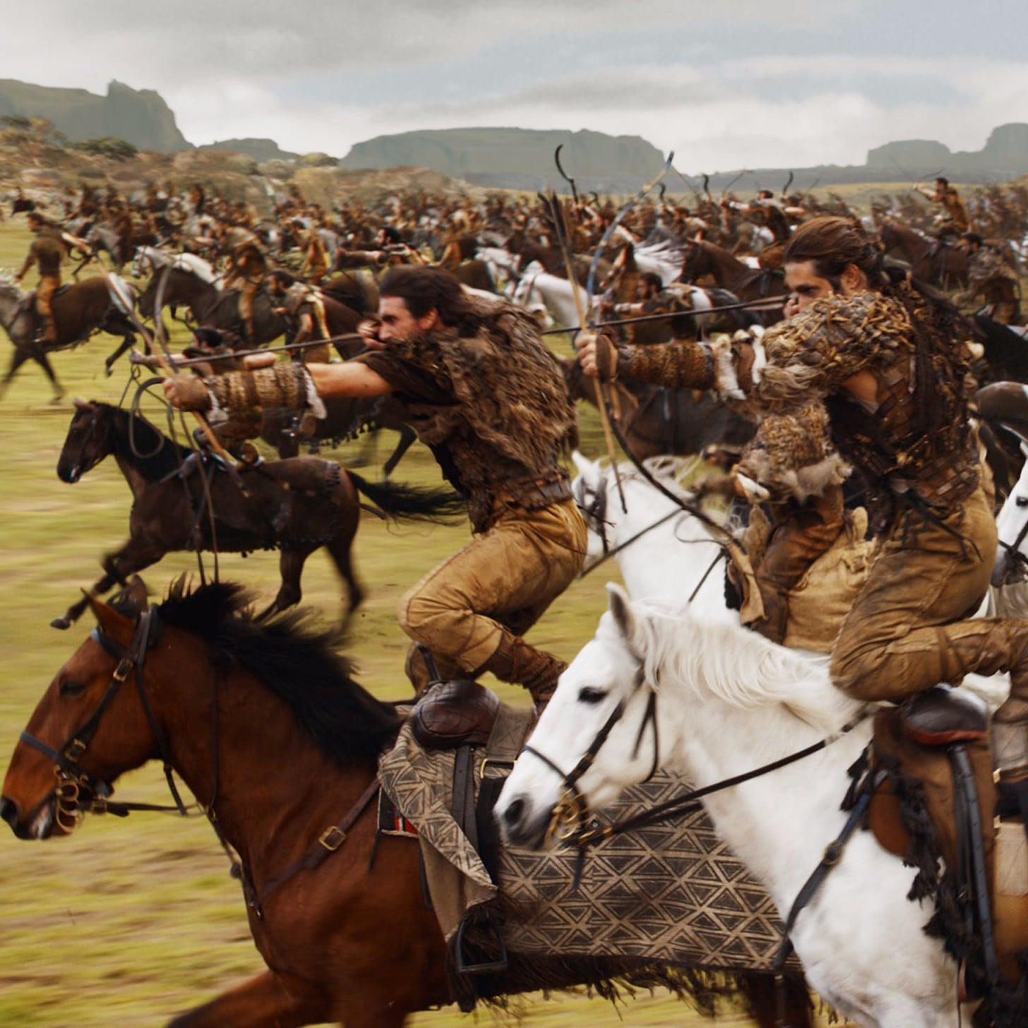 Reactions To The Dothraki In Battle On Game Of Thrones Popsugar Entertainment