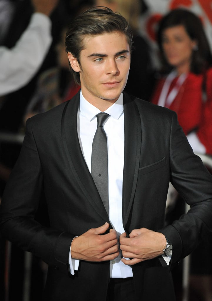 Zac Efron at the LA Premiere of High School Musical 3: Senior Year in 2008