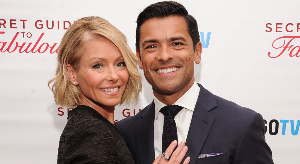 Mark Consuelos with Wife