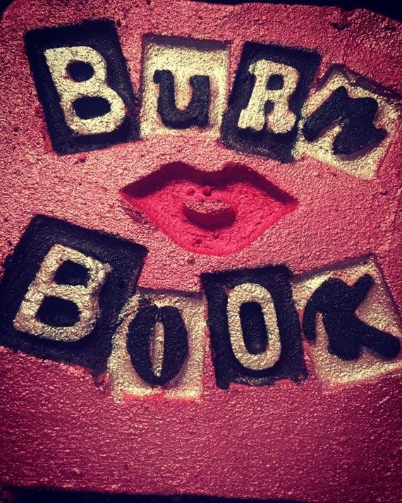 Burn Book Bath Bomb